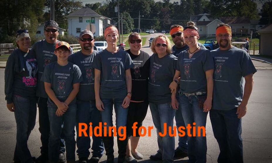 Riding for Justin 2015
